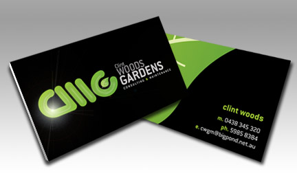 Business card design North Lakes